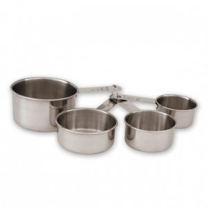 Measuring Cups Set of 4, Stainless Steel