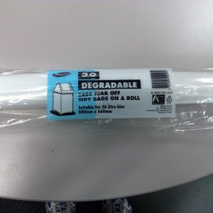 Kitchen Tidy EPI Bin Bag Medium 27L Degradable (roll 50)
