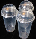 Cups Clear Plastic 22oz 620ml (sleeve 50)