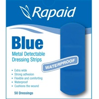 Bandaids Blue Food Safe DR169 #1 (box 50)