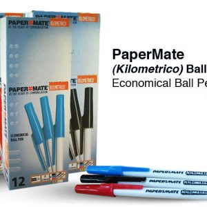Pen Papermate Kilometrico Medium Red (box 12)