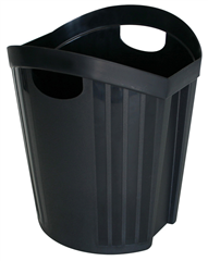 Waste Bin Office Black 15L
