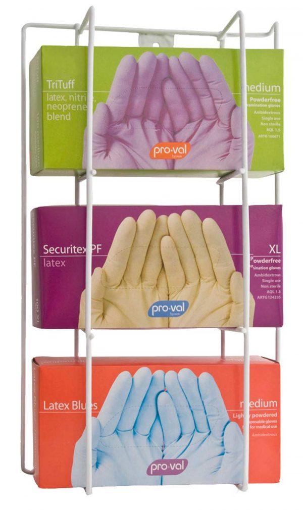 Glove Dispenser Wire Triple