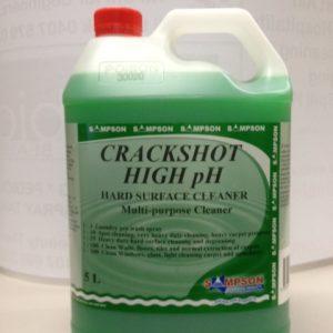 Sampson 5L CRACKSHOT HIGH PH Hard Surface Cleaner