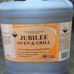 Sampson 20L JUBILEE Oven & Grill Cleaner