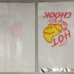 Chicken Bag Foil Lined  300x175x50 (pack 250)