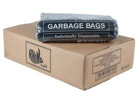 Bin Bag 54L Black (carton 250)