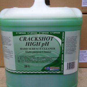 Sampson 20L CRACKSHOT HIGH PH Hard Surface Cleaner