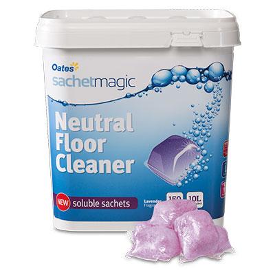 Sachet Magic Neutral Floor Cleaner - Lavender Fragrance 10L (150 sachets)