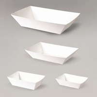 Food Tray White Board #1 90 x 55 x 36 (carton 1000)