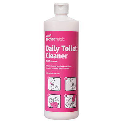 Sachet Magic BOTTLE for Daily Toilet cleaner 1 Litre