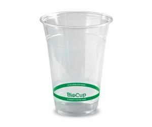 BioPak Cup 420ml BioCup Clear (carton 1000)