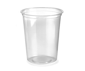 BioPak 960ml BioDeli Bowl Clear (carton 500)