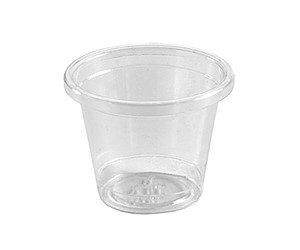 BioPak 30ml Portion Control Bio Sample Cup Clear (carton 3000)