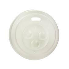 4oz Plastic Heat Resistant Hot Lid White 62mm (carton 1000)