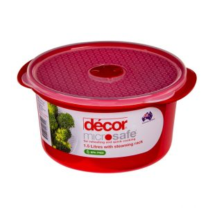 Decor Microwave 1.5lt Round