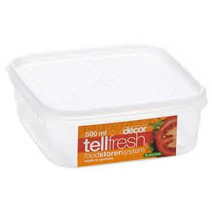 Decor Tellfresh 500ml Oblong