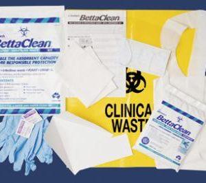 BettaClean Biohazard Spill Clean-up Kit - ENR120