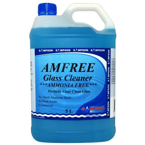 Sampson 5L AMFREE Glass Cleaner