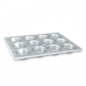 Muffin tray / Pan 12 Cup Aluminium