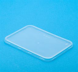 "Lid to Suit Clear Plastic Rectangle Takeaway Containers ""Better Selection"" Bonson brand (carton 500)"