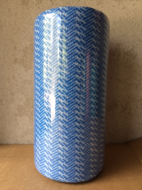 Cloths on a Roll Blue (80 sheets)