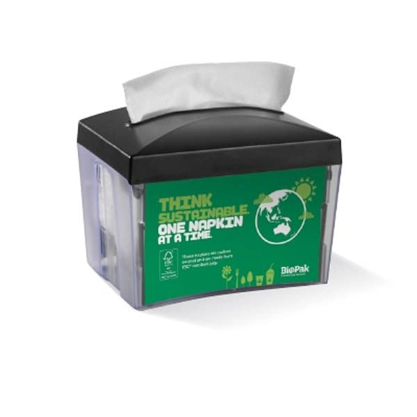 Biopak Napkin Dispenser Single Serve