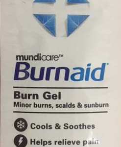 Burn Aid Satchet 3.5g packs of 10 #11