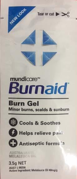 Burn Aid Satchet 3.5g packs of 10 #11