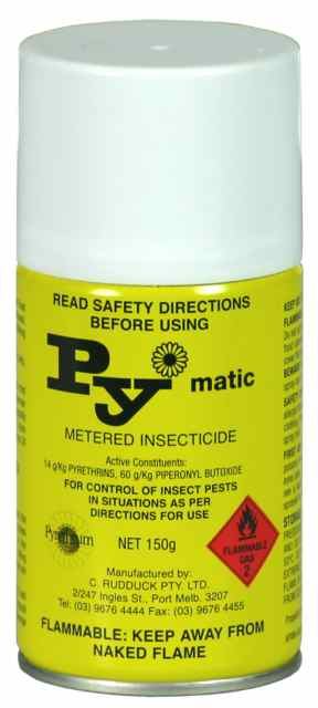Insecticide Pymatic Large Machine Can