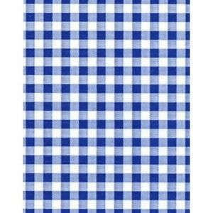 Greaseproof Paper Ginham Blue (200 sheets)