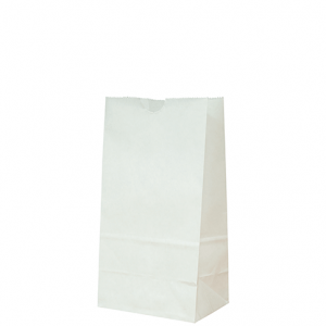 Bag #4 White Paper Takeaway 325 x 125 x 80mm (carton 500)