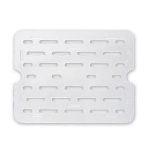 Bain Marie drain plate clear 1/3