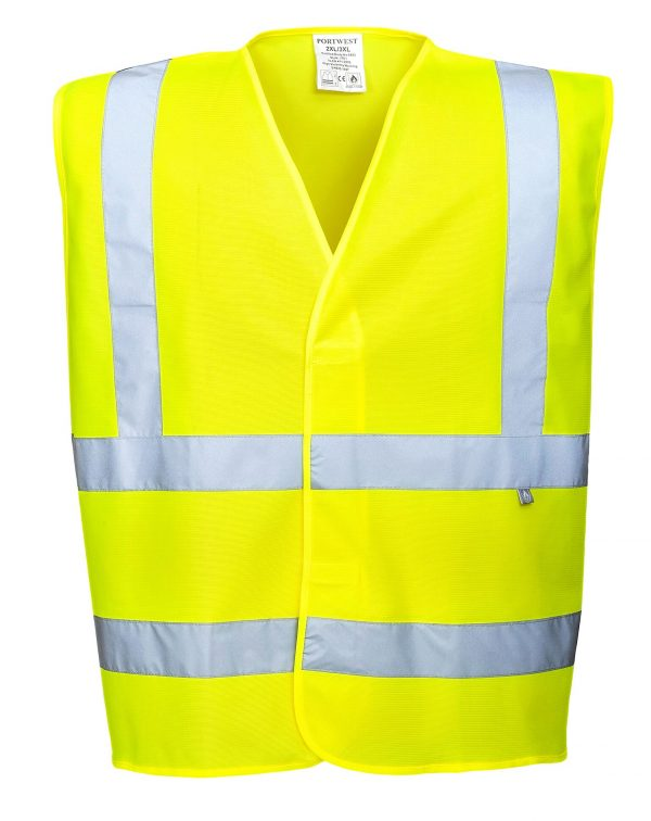 Safety Vest Day/Night Antistatic Size XXL / XXXXL