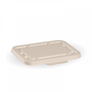 BioPak Takeaway Lid Natural To Fit 500ml & 600ml (carton 500)