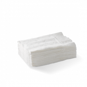 BioPak Napkin D-Fold White 1 Ply Dispenser (carton 5000)
