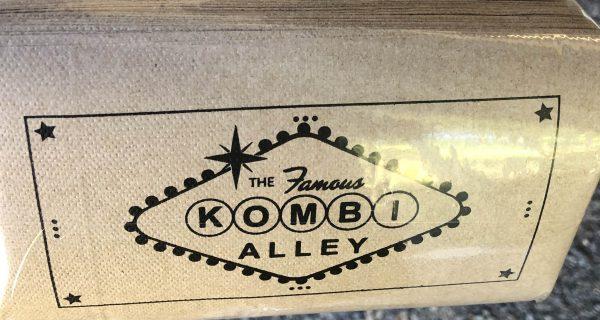 Kombi Alley Napkins Single Serve Natural (carton 6000)